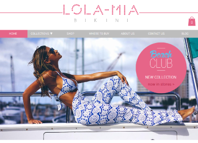 Lola Mia Bikini | Re-design